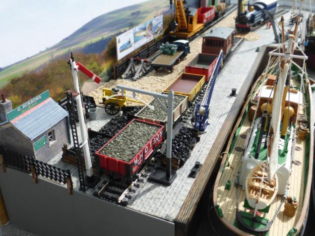 Diorama Page – Knightcote Model Boat Club